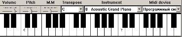 Музыкальные инструменты на клавиатуре