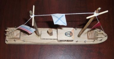 Корабль своими руками из дерева для детей