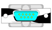 Рисунок штекера контакта видеокарты