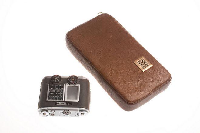 Фотоаппарат из кисета для табака